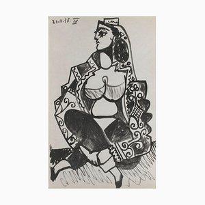 Carnet Californias 08 d'après Pablo Picasso