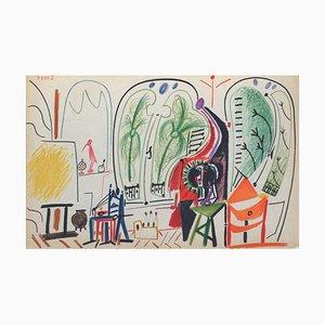Carnet de Californie 31 by Pablo Picasso, 1959