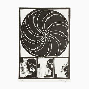 Spirale II by Pierre Alechinsky