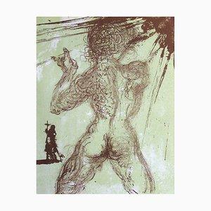 Hommage à Meissonnier I: nu gris by Salvador Dali