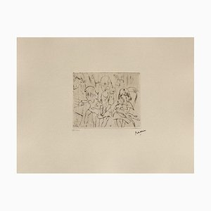 105: Three Little Girls by Jules Pascin