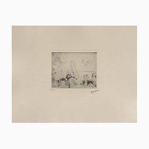 Tentation de Saint-Antoine by Jules Pascin