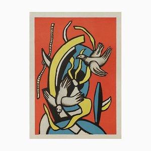 Les Oiseaux after Fernand Leger