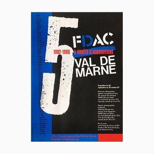 FDAC Val de Marne 1987 by Jean Widmer