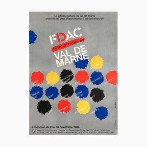 FDAC Val de Marne 1984 par Jean Widmer