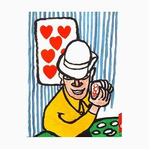 DLM212 Joueurs de Cartes II by Alexandre Calder