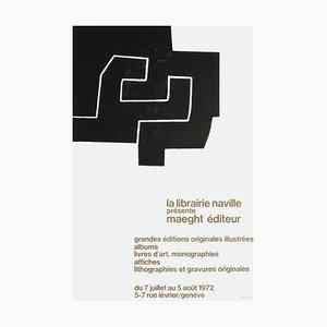 Expo 72: Librairie Naville Genève par Eduardo Chillida