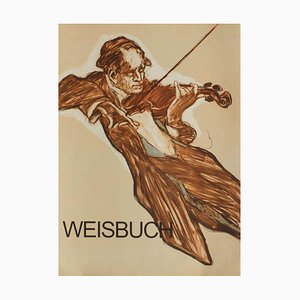 The Violinist by Claude Weisbuch