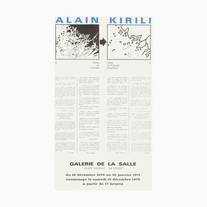 Expo 70: Galerie de la Salle by Alain Kirili