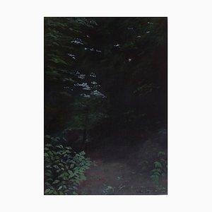Art Contemporain, Jean-Marc Teillon, Série Forêt N°4, 2017