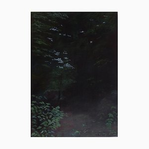 French Contemporary Art, Jean-Marc Teillon, Forest Series N ° 4, 2017