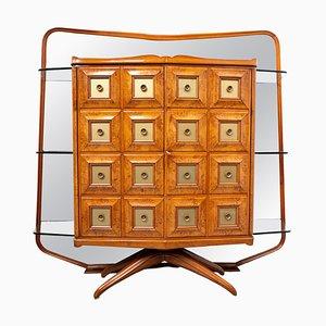 Mobile bar Mid-Century di Guglielmo Ulrich di Arredamenti Casa, anni '50