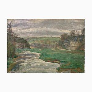 Aurèle Barraud, Landschaft des Jura, 1934