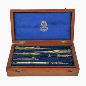 Vintage Zeicheninstrumente von Negretti & Zambra, 2er Set