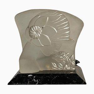 Lampe Art Nouveau, 20ème Siècle