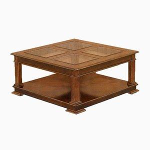 Table Basse avec Plateau en Verre de Barker and Stonehouse