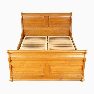 Struttura per letto matrimoniale vintage in quercia di Waring & Gillow