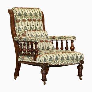 Art Deco Bergere Armchair by Charles Rennie Mackintosh