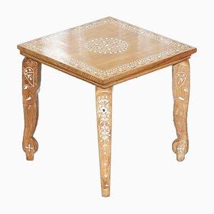 Anglo Indian Intarsie Holztisch