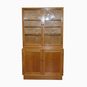 Tiger Wood Oak Display Cabinet or Bookcase