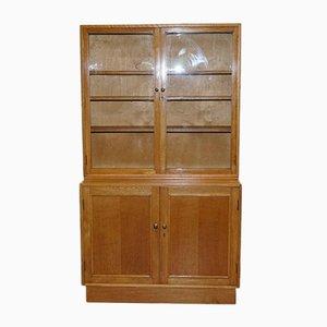 Tiger Wood Oak Display Cabinet