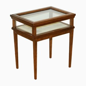 Edwardian Style Rectangular Hardwood Bijouterie Inlaid Side Table