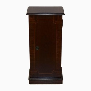 Hardwood Regency Style Cabinet Cupboard Inlaid Top