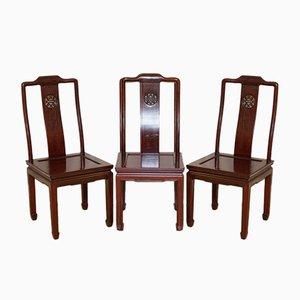 Chaises de Salon en Palissandre, Set de 6