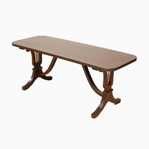 Low Hardwood Coffee Table