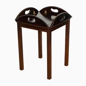 Georgian Style Hardwood Butler's Tray Table