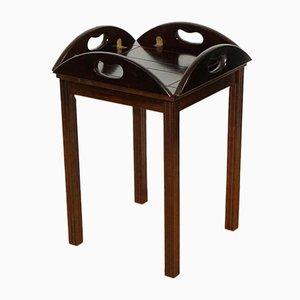Georgianischer Hartholz Butler Tablett Tisch