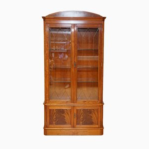 Hardwood Display Cabinet with Lights by Charles Barr for Harrods