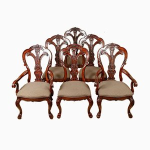 Chaises de Salle à Manger Vintage en Acajou de Bernhardt Furniture, Set de 6