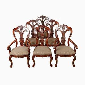 Vintage Mahagoni Esszimmerstühle von Bernhardt Furniture, 6er Set