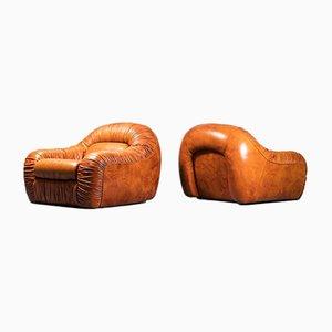 Vintage Capriccio Armchairs from Eurosalotto, 1970s, Set of 2