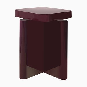 Spina Lacquered Side Table by CaraDavide for Portego