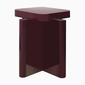 Tavolino Spina laccato di CaraDavide per Portego