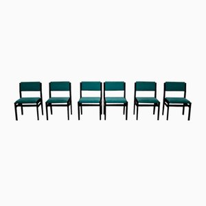 Vintage Japanese Series Chairs by Cees Braakman for Pastoe, 1960s, Set of 6