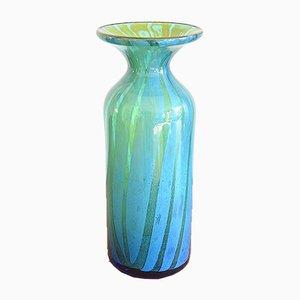 Vase en Verre par Michael Harris pour Mdina, 1970s