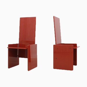 Kazuki Chairs by Kazuhide Takahama for Gavina, 1970s, Set of 2