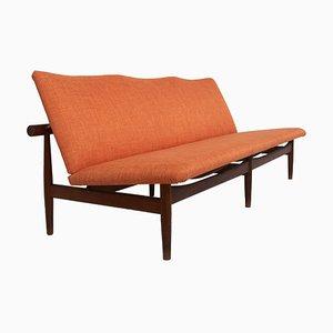 Teak Model 137 Japan Sofa by Finn Juhl for France and Son, Denmark, 1950s