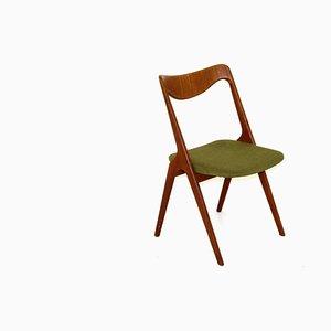 Chaise en Teck de Alb. Johansson & Söner, Hyssna, Suède, 1960s