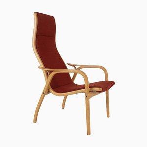 Sessel aus Buche von Yngve Ekström für Swedese Modell Lamino, Schweden
