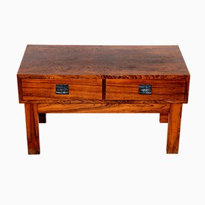 Console in Rosewood from Glas & Trä, Sweden, 1960s