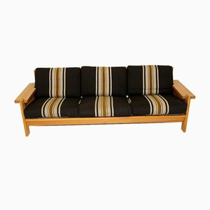 Scandinavian 3-Seater Sofa by Svein Bjørneng for Bruksbo, Norway, 1970s