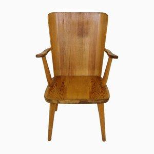 Chaise en Pin par Göran Malmvall pour Svensk Fur, Suède, 1950s