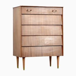 Teak and Brass Dresser from Avalon, 1960s