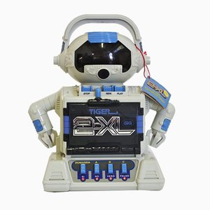 Robot Cassette Recorder from Tiger Electronics, 1990s