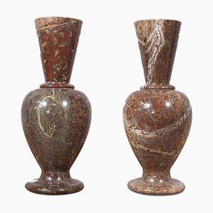 Vases Décoratifs Victoriens Antiques, Angleterre, Set de 2