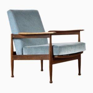 Mid-Century Danish Teak Armchair by Guy Rogers